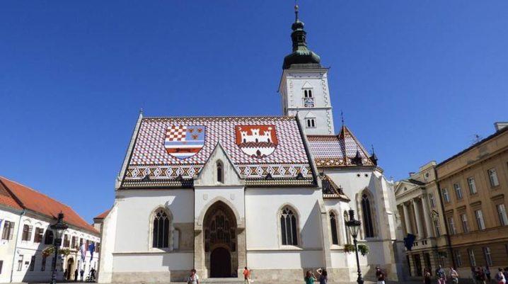 Église Saint-Marc de Zagreb