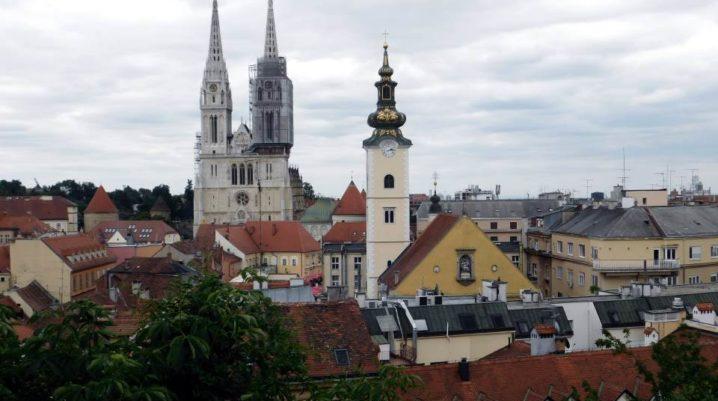 La Promenade Strossmayer – vues magnifiques sur la ville de Zagreb