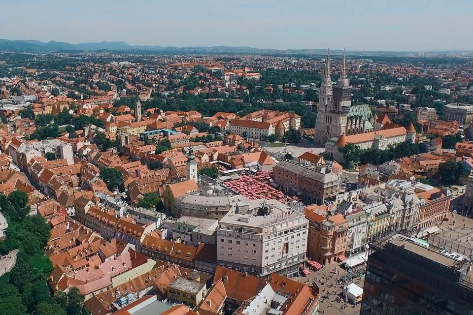 Deux collines de Zagreb - Kaptol et Gradec