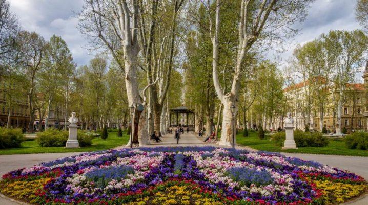 Zrinjevac: le plus beau et attrayant parc de Zagreb
